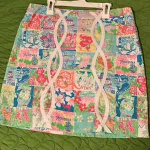 State of Mind Lilly Pulitzer Skirt